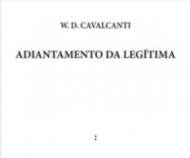 """Lançamento do livro """"Adiantamento da Legítima"""""""